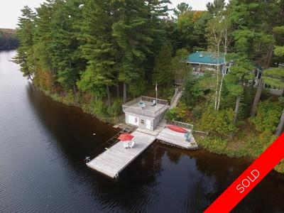Tall Pines Point Waterfront House for sale: 3 bedroom 2,845 sq.ft.
