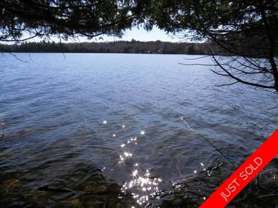 Deep Water Road, Lake Of Bays Waterfront Building Lot