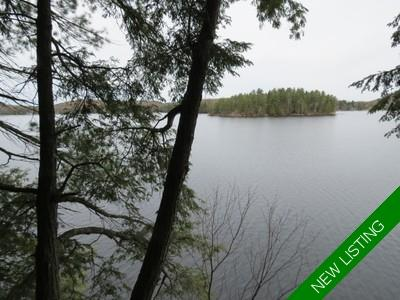 District of Muskoka/ Lake of Bays Building Lot Lake of Bays for sale: