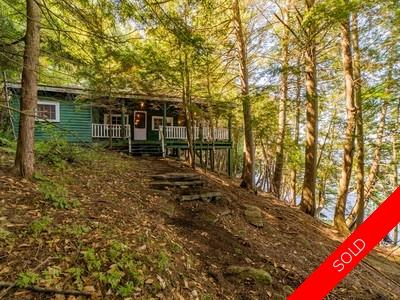 District of Muskoka/ Lake of Bays/ Franklin Cottage for sale:  4 bedroom 1,976 sq.ft. (Listed 2019-09-17)