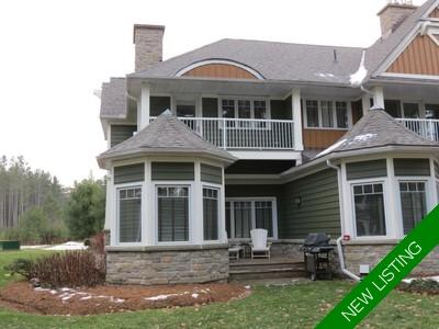 Lake of Bays Townhouse for sale: The Landscapes 2 + Den 1,888 sq.ft.